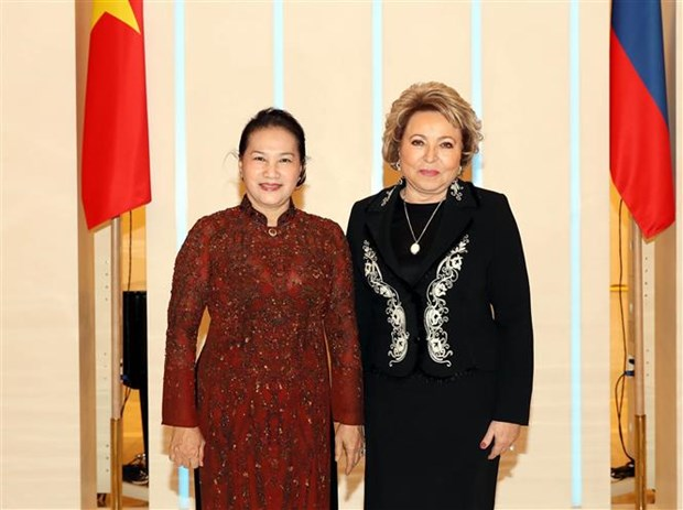 Vietnam-Russie : Nguyen Thi Kim Ngan s'entretiennent avec Valentina Matvienko hinh anh 1