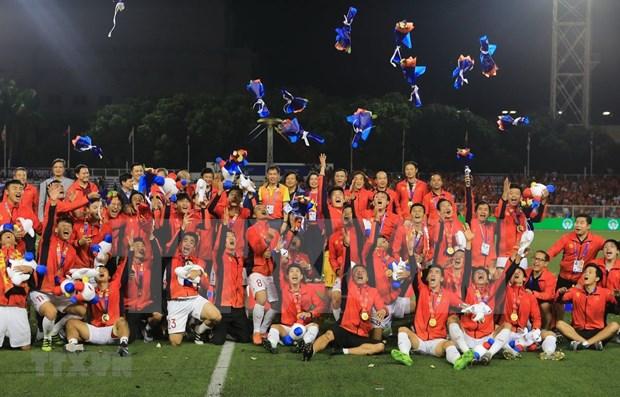 Sea Games 30: les medias asiatiques saluent la victoire historique du football vietnamien hinh anh 1