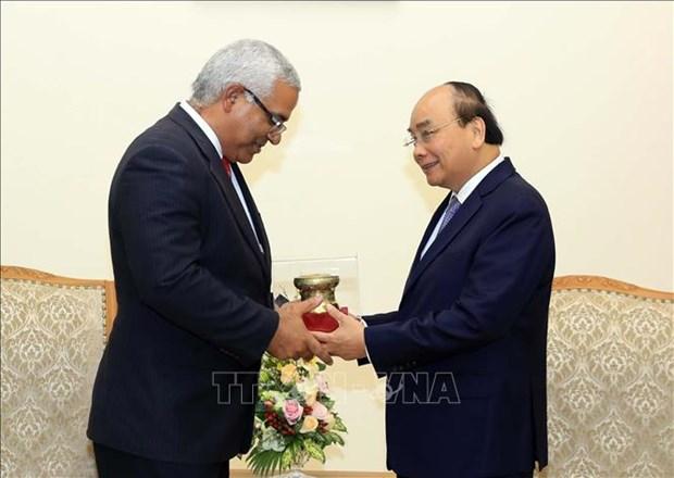 Le PM Nguyen Xuan Phuc rencontre le ministre cubain de la Justice hinh anh 1