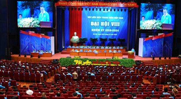 Ouverture du 8e Congres national de la Federation de la jeunesse du Vietnam hinh anh 1