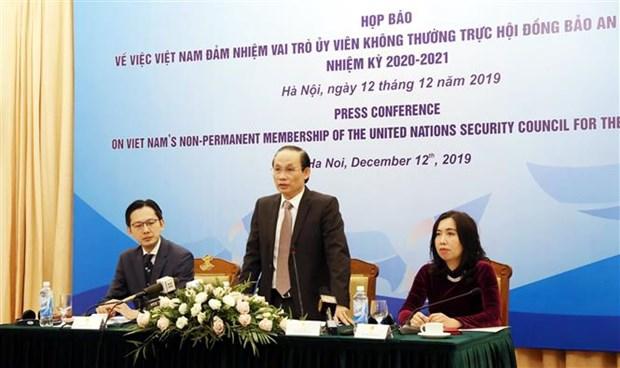 Conseil de securite: Le Vietnam oeuvrera pour la paix, la cooperation et le developpement hinh anh 1