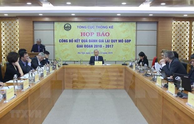 L'economie a augmente de 1,3 billiard de dongs apres recalcul du PIB hinh anh 1