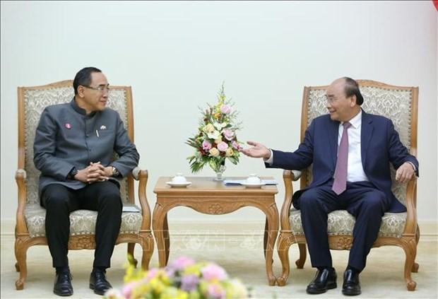 Le Premier ministre Nguyen Xuan Phuc recoit l'ambassadeur de Thailande hinh anh 1