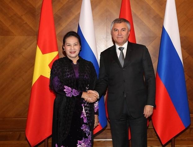 La tournee qui a promu des liens multiformes avec la Russie et le Belarus hinh anh 1