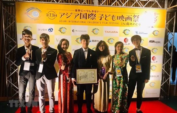 Hanoi : eleves primes lors du Festival international de films pour l'enfant de l'Asie hinh anh 1