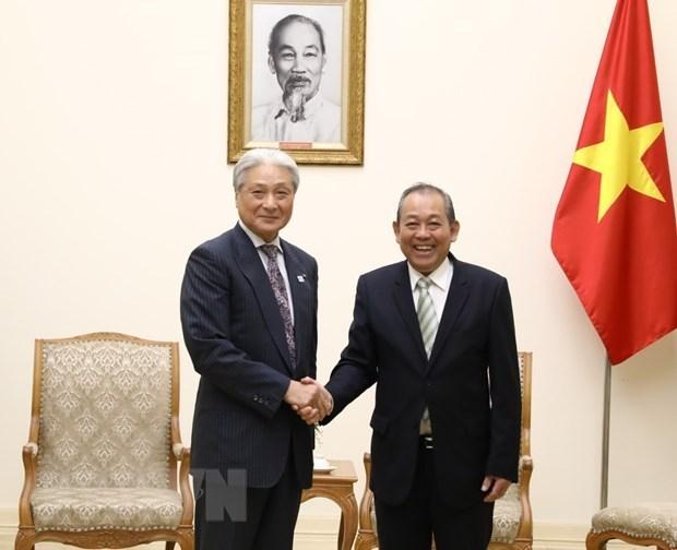 Le vice-Premier ministre Truong Hoa Binh exhorte Tochigi a investir plus hinh anh 1