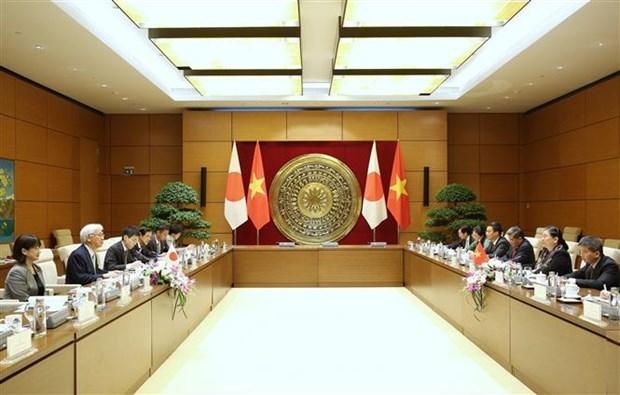 Le Vietnam et le Japon renforcent leurs liens parlementaires hinh anh 1