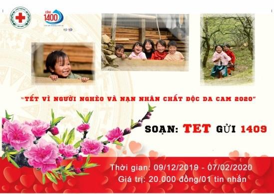Tet: des SMS pour les pauvres et les victimes de l'agent orange hinh anh 1
