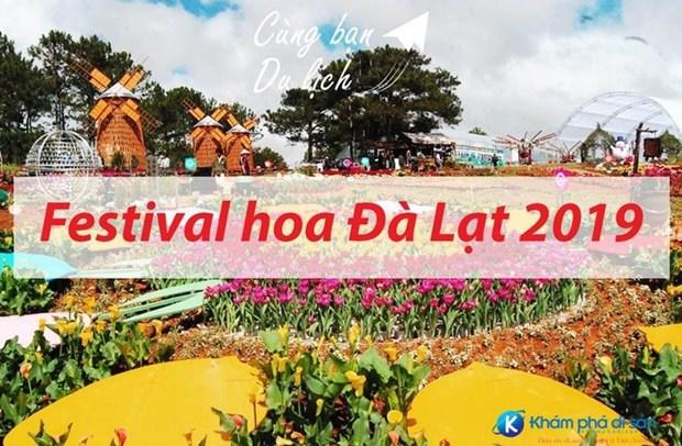 Le festival des fleurs a Da Lat hinh anh 1