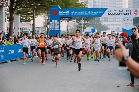 Plus de 9.000 participants inscrits au Marathon de Ho Chi Minh-Ville 2020 hinh anh 1