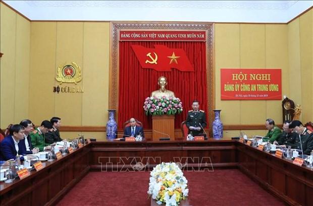 Le PM exhorte les forces de police populaire a promouvoir leurs acquis hinh anh 1