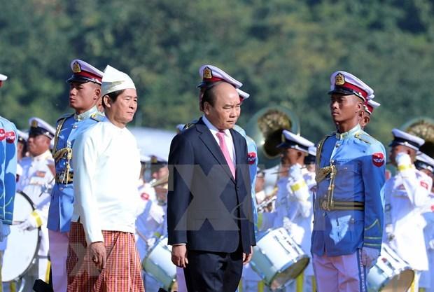 Le Vietnam et le Myanmar poursuivent a promouvoir les liens bilateraux a une nouvelle hauteur hinh anh 1