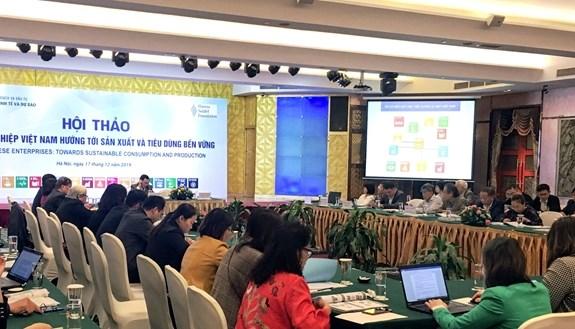Les entreprises vietnamiennes visent une production et une consommation durables hinh anh 1