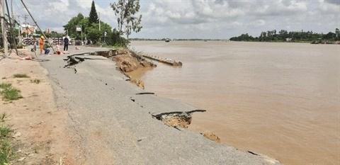 Le delta du Mekong pourrait disparaitre sous les eaux en 2100 hinh anh 1
