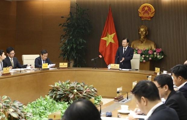 Le vice-PM Trinh Dinh Dung demande d'accelerer la strategie d'industrialisation hinh anh 1