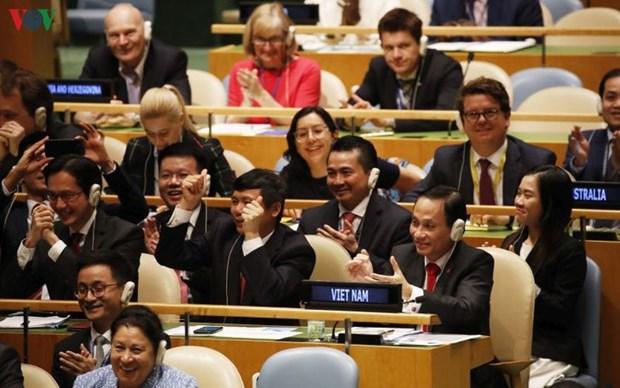 Les temps forts de l'action du Vietnam a l'international en 2019 hinh anh 1