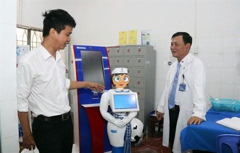 Quand Cendrillon robot arpente le hall de l'hopital hinh anh 1