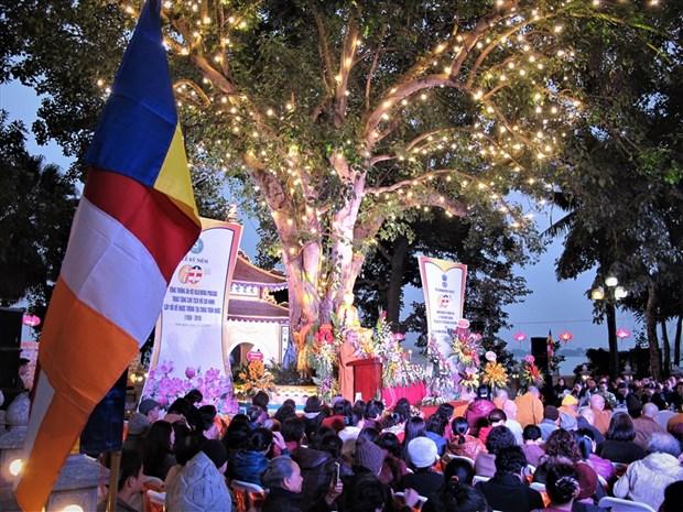 A l'ombre de l'arbre de la Bodhi offert par le president indien Rajendra Prasad hinh anh 1