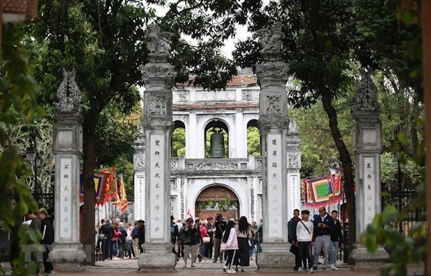 Hanoi accueille plus de sept millions de touristes etrangers hinh anh 1