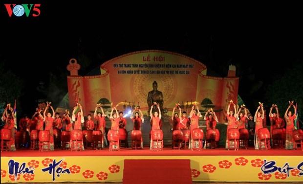 La fete du temple de Nguyen Binh Khiem reconnu comme « Patrimoine culturel immateriel national » hinh anh 1