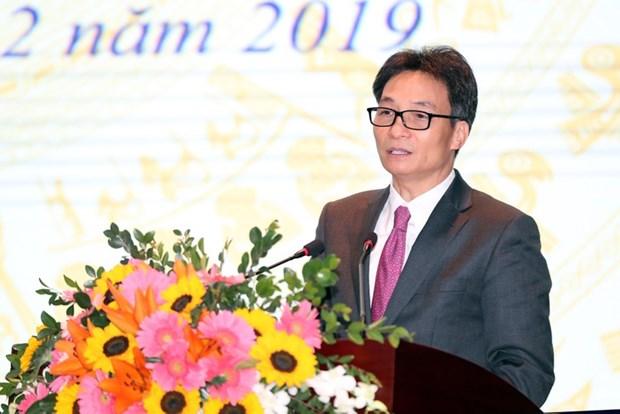 Le vice-PM Vu Duc Dam a la conference bilan du ministere de la Culture, des Sports et du Tourisme hinh anh 1