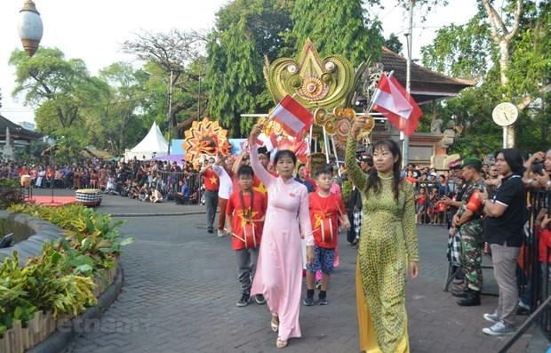 Le Vietnam promeut le tourisme a un festival en Indonesie hinh anh 1