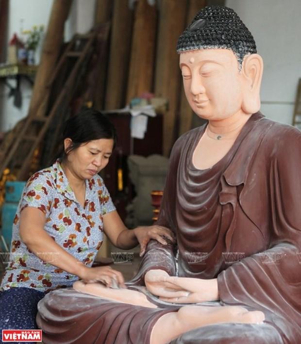 La laque, une tradition ancree dans le temps a Ha Thai hinh anh 2
