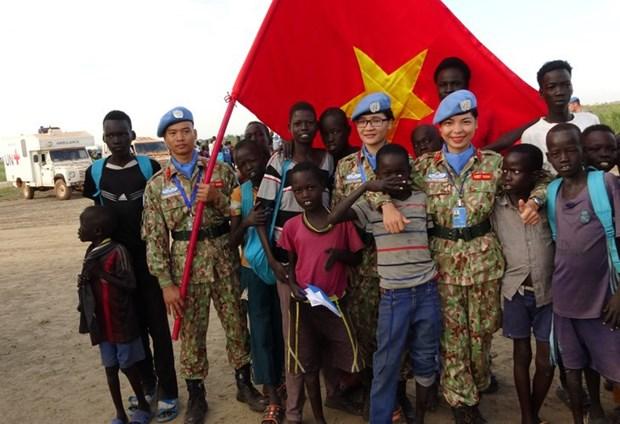 Les Casques bleus renvoient l'image d'un Vietnam amical et dynamique hinh anh 3