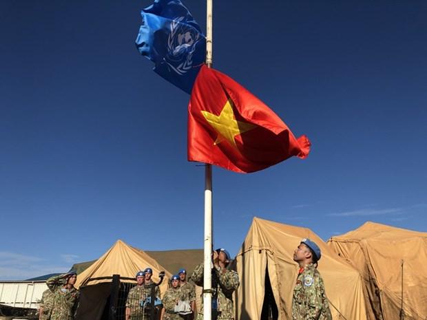 Les Casques bleus renvoient l'image d'un Vietnam amical et dynamique hinh anh 2
