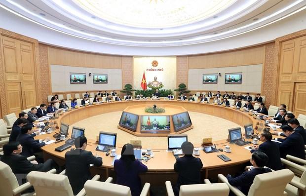 Le PM Nguyen Xuan Phuc preside la derniere reunion gouvernementale de 2019 hinh anh 1