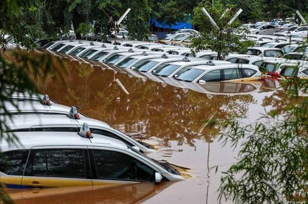 Indonesie: Au moins 23 morts dans les inondations dues aux pluies du Nouvel an hinh anh 1