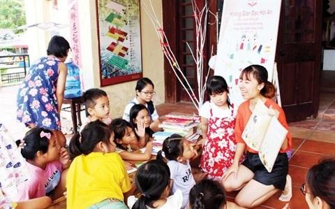 Un espace ouvert de lecture a Hoi An hinh anh 1