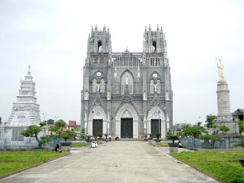 La basilique de l'Immaculee - Conception de Phu Nhai hinh anh 1