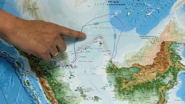 Apres la violation chinoise de la ZEE, Jakarta convoque des reunions hinh anh 1