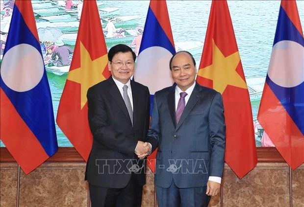 Le Comite intergouvernemental Vietnam-Laos tient sa 42e session hinh anh 1