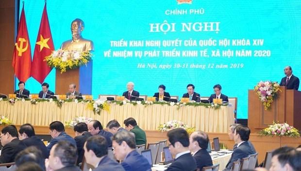 Le Vietnam fait du developpement economique une priorite en 2020 hinh anh 1