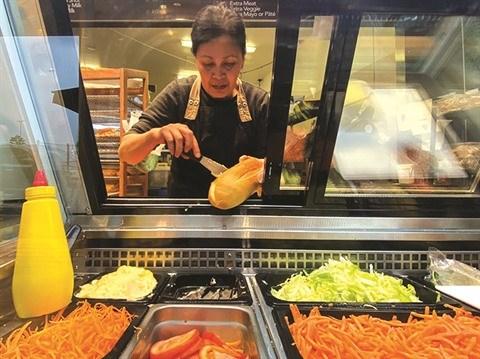 Le banh mi, sandwich vietnamien, seduit en Australie hinh anh 1