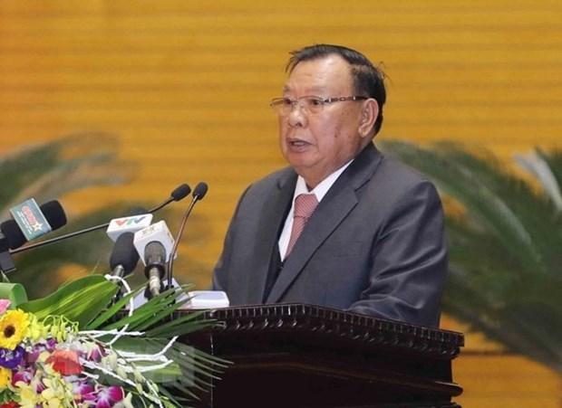 Des hauts dirigeants laotiens saluent la cooperation en matiere judiciaire avec le Vietnam hinh anh 1
