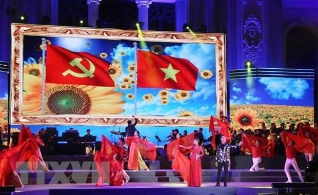 HCM-V: De nombreuses activites de celebration des 90 ans du Parti communiste du Vietnam hinh anh 1