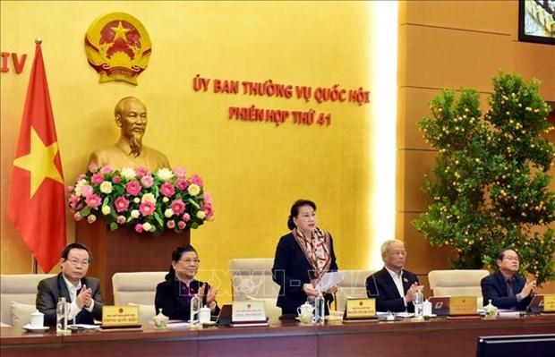 Le Comite permanent de l'Assemblee nationale tient sa 41e reunion hinh anh 1