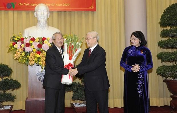 Nguyen Phu Trong honore la fidelite des membres du Parti hinh anh 1