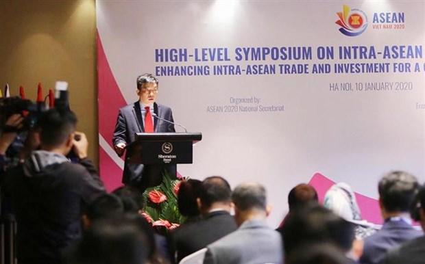 L'ASEAN veut accroitre le commerce et l'investissement intra-regionaux hinh anh 1