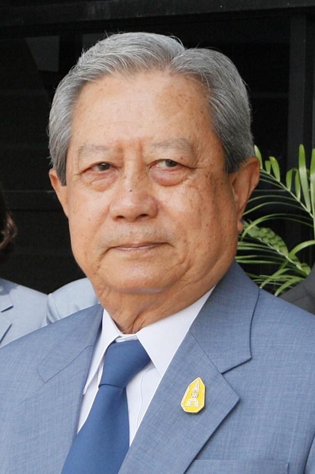 Felicitations au nouveau president du Conseil prive thailandais hinh anh 1