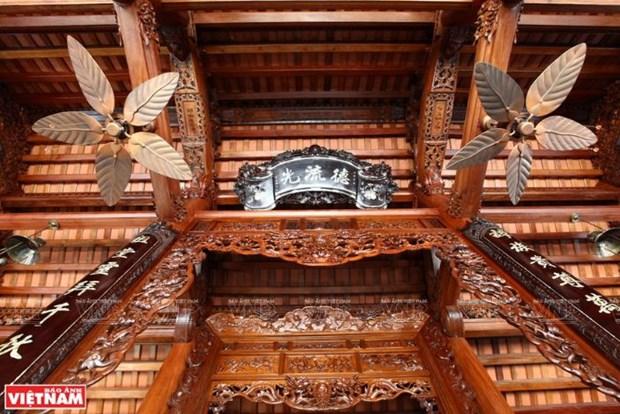 A Chang Son, le village qui perpetue l'habitat traditionnel en bois hinh anh 7