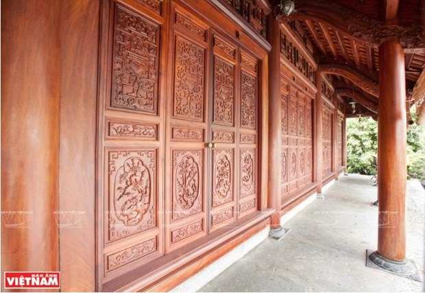 A Chang Son, le village qui perpetue l'habitat traditionnel en bois hinh anh 5