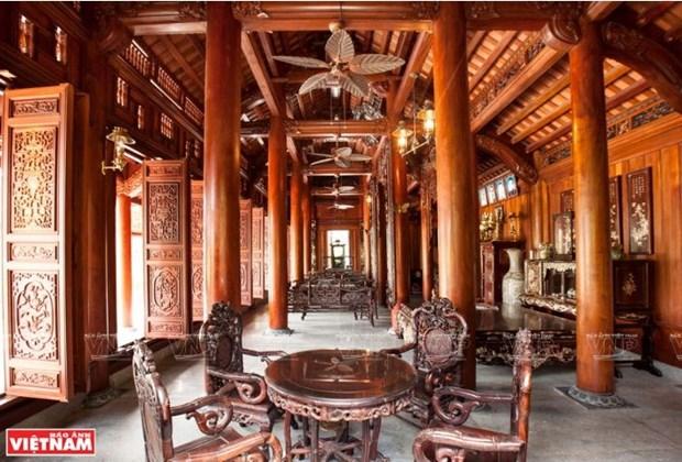 A Chang Son, le village qui perpetue l'habitat traditionnel en bois hinh anh 6