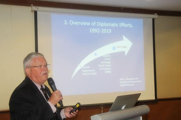 Le COC, instrument pour resoudre les conflits en Mer Orientale hinh anh 1