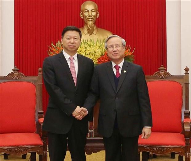 Renforcement des relations avec la Chine hinh anh 1