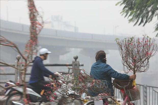 Hanoi compte installer de nouvelles stations de surveillance de la qualite de l'air hinh anh 1