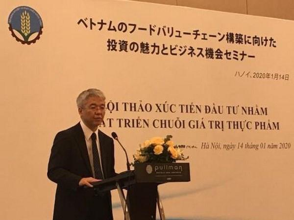 Le Vietnam et le Japon cooperent sur la chaine de valeur alimentaire hinh anh 1